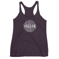 Sons and Daughters of Oregon - Ladies' Triblend Racerback Tank - Oregon Born