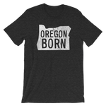 Our Original 'Oregon Born' Logo Unisex Tee - Oregon Born