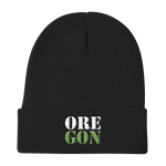 "Oregon Born - ""ORE-GON"" - Knit Beanie - Oregon Born"