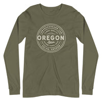 FINEST QUALITY (OUTLINE) - Unisex Long Sleeve Tee - Oregon Born