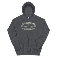 "Oregon Born ""Great Outdoors"" - Unisex Hoodie - Oregon Born"