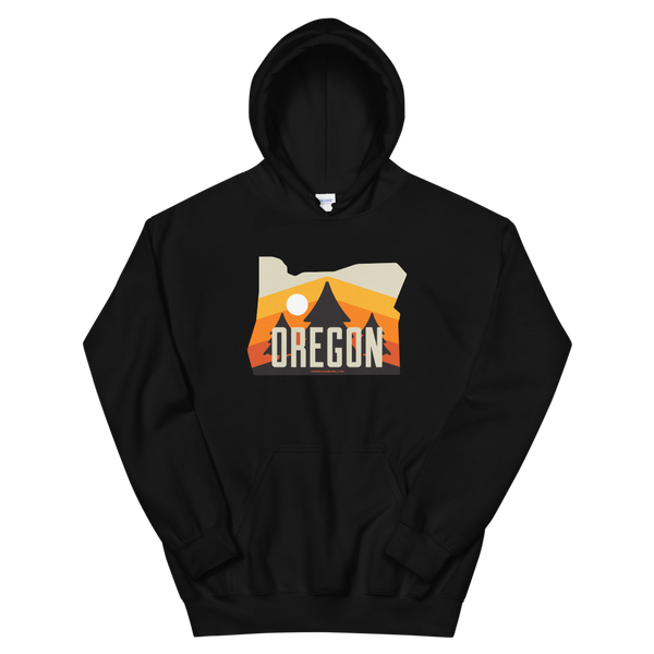 Oregon - Retro '70s - Unisex Hoodie - Oregon Born