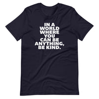 IN A WORLD - Short-Sleeve Unisex T-Shirt - Oregon Born