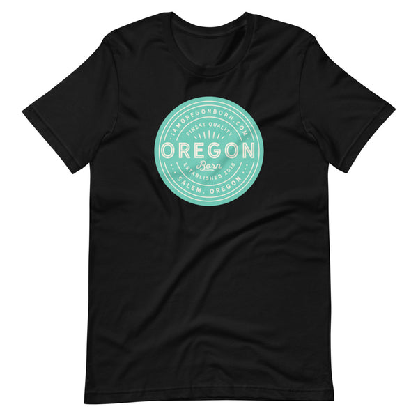 FINEST QUALITY (SEAFOAM) - Short-Sleeve Unisex T-Shirt - Oregon Born
