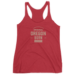 Oregon Born Est. 2018 - Women's Racerback Tank (One Color)