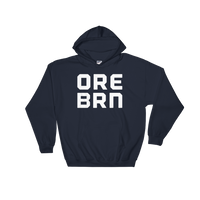 "Oregon Born - ""ORE BRN"" - Hooded Sweatshirt - Oregon Born"