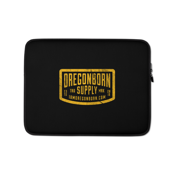 Oregon Born Supply - Laptop Sleeve - Oregon Born