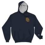 Oregon Born Monogram - GOLD STANDARD - Champion Hoodie
