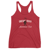 The Oregon Born Adventure Club - Women's Racerback Tank - Oregon Born