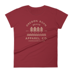 Oregon Born Brand Apparel Co. - Women's Short Sleeve T-Shirt
