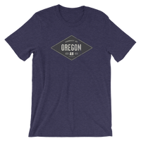 Product of Oregon - Short-Sleeve Unisex Tee - Oregon Born