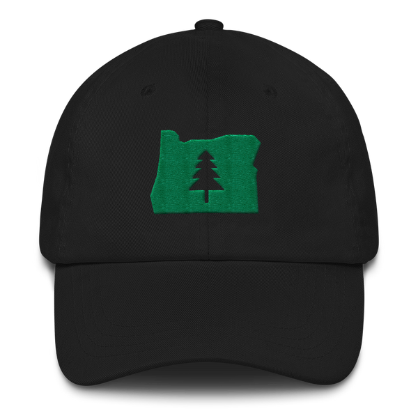 """Explore Oregon"" - Dad Hat - Oregon Born"