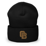 Oregon Born Monogram - GOLD STANDARD - Cuffed Beanie