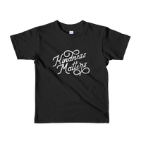 """Kindness Matters"" - Short Sleeve Kids Tee - Oregon Born"