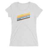Oregon Born - Retro 5 - Ladies' Short Sleeve Tee - Oregon Born