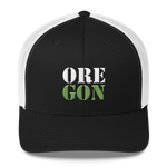"Oregon Born - ""ORE-GON"" - Trucker Cap - Oregon Born"