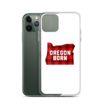 "Oregon Born ""Buffalo Plaid"" - iPhone Case - Oregon Born"