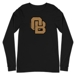 Oregon Born Monogram - GOLD STANDARD - Unisex Long Sleeve Tee