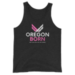 "Oregon Born ""She Flies"" - Unisex  Tank Top - Oregon Born"