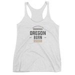 Oregon Born Est. 2018 - Women's Racerback Tank