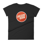 Oregon Born 2020 Logo - Women's Short Sleeve T-Shirt