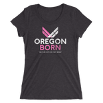 "Oregon Born ""She Flies"" - Ladies' Short Sleeve Tee - Oregon Born"