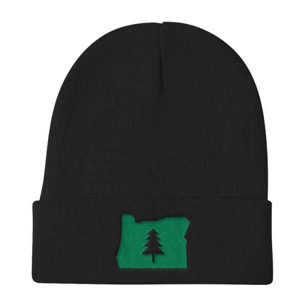 """Explore Oregon"" - Knit Beanie - Oregon Born"