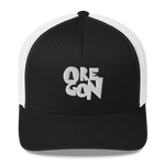 "Oregon ""Stylized"" - Trucker Cap - Oregon Born"