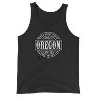 Sons and Daughters of Oregon - Unisex Jersey Tank with Tear Away Label - Oregon Born