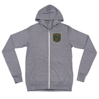 "Oregon Born - ""Get Out and Explore"" - Lightweight Zip Hoodie - Unisex - Oregon Born"