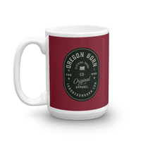 "Oregon Born ""Original Apparel"" - Mug - Oregon Born"