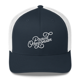 """Proud Oregonian"" - Trucker Cap - Oregon Born"