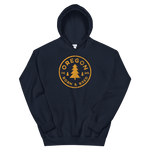 Oregon Born & Bred (Yellow) - Unisex Hoodie