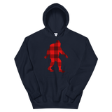 "Bigfoot ""Buffalo Plaid"" - Unisex Hoodie - Oregon Born"