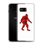 "Bigfoot ""Buffalo Plaid"" - Samsung Case - Oregon Born"