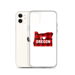 "I Heart Oregon ""Buffalo Plaid"" - iPhone Case - Oregon Born"