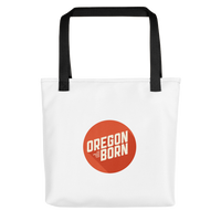 Oregon Born 2020 Logo - Tote bag - Oregon Born