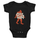 "Oregon ""Bigfoot"" - Infant Bodysuit - Oregon Born"