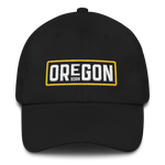 Oregon Born in Gold - Dad Hat - Oregon Born