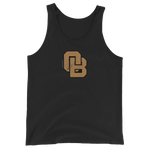 Oregon Born Monogram - GOLD STANDARD - Unisex Tank Top