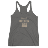 Oregon Born Est. 2018 - Women's Racerback Tank (One Color) - Oregon Born