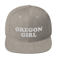 """Oregon Girl"" - Snapback Hat - Oregon Born"