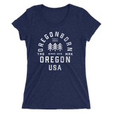 Oregon USA - Ladies' Short Sleeve Tee - Oregon Born