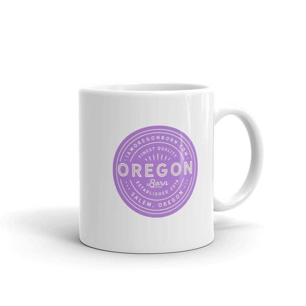 FINEST QUALITY (LAVENDER) - Mug - Oregon Born
