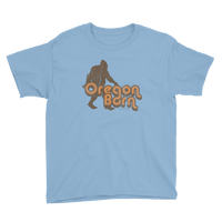 "Oregon Born - Retro 4 ""Bigfoot"" - Unisex Youth Tee - Oregon Born"