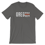 "Oregon Born ""Inset"" - Short-Sleeve Unisex Tee - Oregon Born"