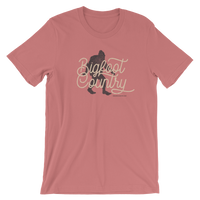 """Bigfoot Country"" - Short-Sleeve Unisex T-Shirt - Oregon Born"