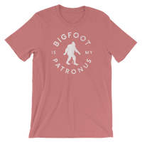 """Bigfoot Is My Patronus"" - Short-Sleeve Unisex Tee - 2 - Oregon Born"