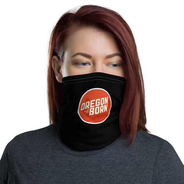 Oregon Born 2020 Logo - Neck Gaiter - Oregon Born
