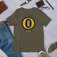 O-BORN - Short-Sleeve Unisex T-Shirt - Oregon Born